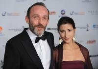 Karl Markovics and his wife at the 36th International Emmy Awards.