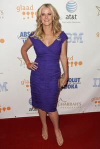 Maeve Quinlan at the 19th Annual GLAAD Media Awards.