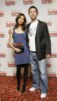 Thandie Newton and Paddy Considine at the Sony Ericsson Empire Film Awards 2006.