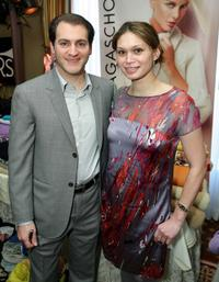 Michael Stuhlbarg and Guest at the 67th Annual Golden Globe Awards.