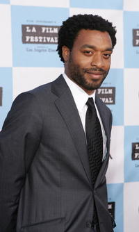 Chiwetel Ejiofor at the screening of