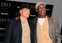 Woody Harrelson and Danny Glover at the California premiere of