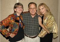 Karen Prell, Dave Goelz and Cheryl Gates McFadden at the special 20th anniversary screening of
