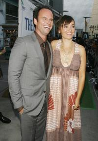 Walt Goggins and Nadia Conners at the California premiere of