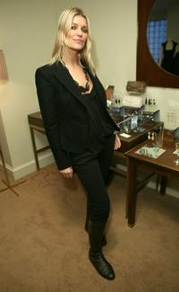 Ivana Milicevic at the J. Mendel 's Oscar cocktail party.