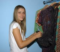 Ivana Milecevic at the opening of the new boutique Lo-Fi.