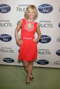 Arden Myrin at the American Idol Season 7's Top 24 Party.