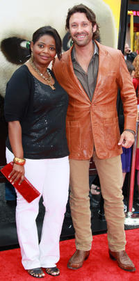 Octavia L. Spencer and Guest at the California premiere of