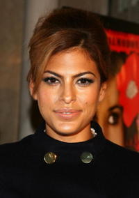 Eva Mendes at the AFI Festival 2006.