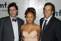 Tony Kushner, Lynn Whitfield and Kenneth Cole at the 5th Annual AmFAR Honoring with Pride Gala.