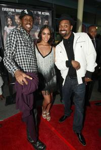 Wood Harris, Yasmin Deliz and Mike Epps at the screening of