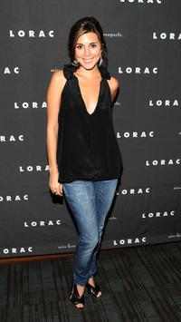 Jamie-Lynn Sigler at the LORAC/miss davenporte Showstopper Launch party.