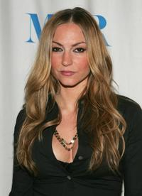 Drea de Matteo at the Museum of Television and Radio presentation of