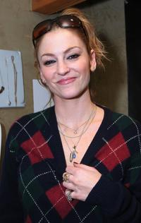 Drea de Matteo at the Gibson Guitar and Entertainment Tonight celebrity hospitality lodge during the 2007 Sundance Film Festival.