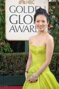 Zhang Ziyi at the Golden Globe Awards.