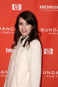 Emma Roberts at the screening of