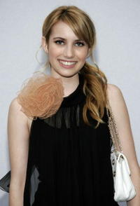 Emma Roberts at the 2007/8 Chanel Cruise Show in California.