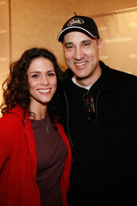 Melissa Ponzio and Kenny Alfonso at the LuxeLife Lounge during the 2007 Sundance Film Festival.