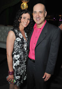 Melissa Ponzio and Kenny Alfonso at the California premiere of