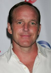 Clark Gregg at the CW/CBS/Showtime/CBS Television TCA party.