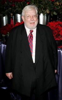 Richard Griffiths at the drinks reception prior to the gala screening of