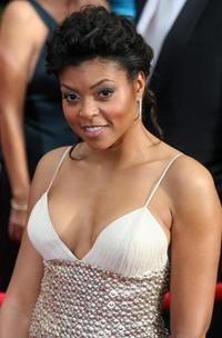 Taraji P. Henson at the 14th Annual Screen Actors Guild Awards.