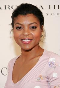Taraji P. Henson at the Caroline Herrera Spring 2007 Fashion Show.