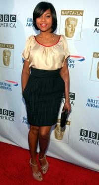 Taraji P. Henson at the 6th Annual BAFTA TV Tea Party.