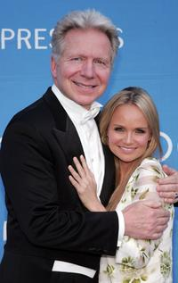 John Mauceri and Kristin Chenoweth at the 8th Annual Hollywood Bowl Hall Of Fame Night.