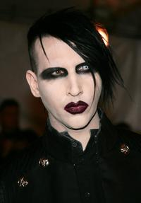 Marilyn Manson at the MET Costume Institute Gala Celebrating Chanel.