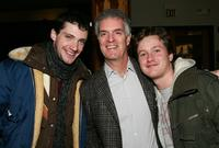 Director Ryan Samul, David Gersh and Tom Guiry at the Gersh Agency Party during the Sundance Film Festival.