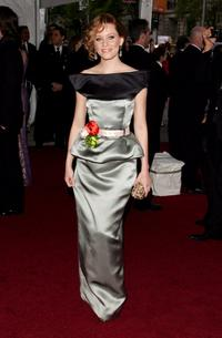 Elizabeth Banks at the Metropolitan Museum of Art Costume Institute Benefit Gala