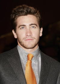 """Jake Gyllenhaal at the premiere of """"Brokeback Mountain"""" in Venice, Italy."""
