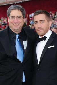 Tom Rothman and Jake Gyllenhaal at the 82nd Annual Academy Awards.