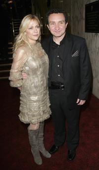 Eddie Marsan and Guest at the UK premiere of