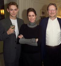 JJ Feild, Director Julie Taymor and Director Fred Schepisi at the screening of