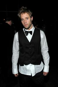 Shaun Sipos at the G-Star Raw Presents NY Raw Fall/Winter 2010 Collection dinner.