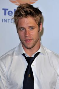 Shaun Sipos at the 50th Anniversary celebration of the Monte Carlo TV Festival.