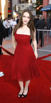Kat Dennings at the L.A. premiere of