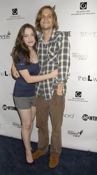Kat Dennings and Matthew Gubler at the season premiere of