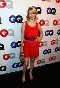 January Jones at the GQ 2007 Men Of The Year celebration.