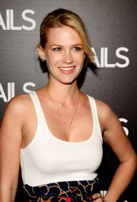 January Jones at the Details magazine