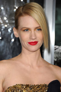 January Jones at the California premiere of