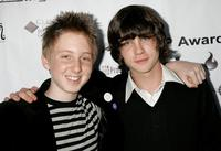 Dean Collins and Logan Lerman at the 4th annual IndieProducer Awards Gala.