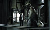 Daniel Radcliffe and Michael Gambon in