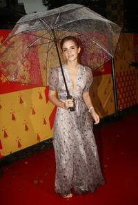 Emma Watson at the London premiere of
