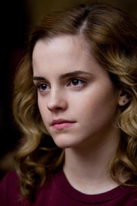 Emma Watson as Hermione Granger in Harry Potter and The Half-Blood Prince.