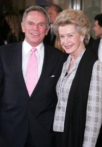 Ted Hartley and Dina Merrell at the 34th Annual Film Society of Lincoln Center spring tribute to Dustin Hoffman.