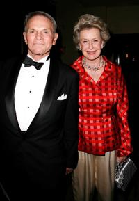Ted Hartley and Dina Merril at the Stella Adler Studio Fourth Annual Stella by Starlight benefit gala.