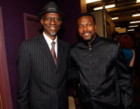Keb' Mo' and Chris Tucker at the Thelonious Monk Institute of Jazz.